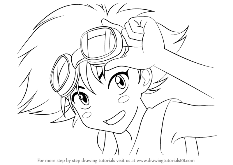 800x566 Learn How To Draw Edward From Cowboy Bebop (Cowboy Bebop) Step By