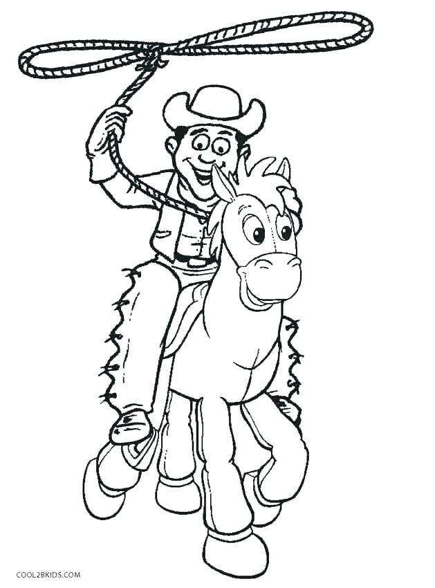Cowboy Drawing For Kids At Getdrawings Com Free For