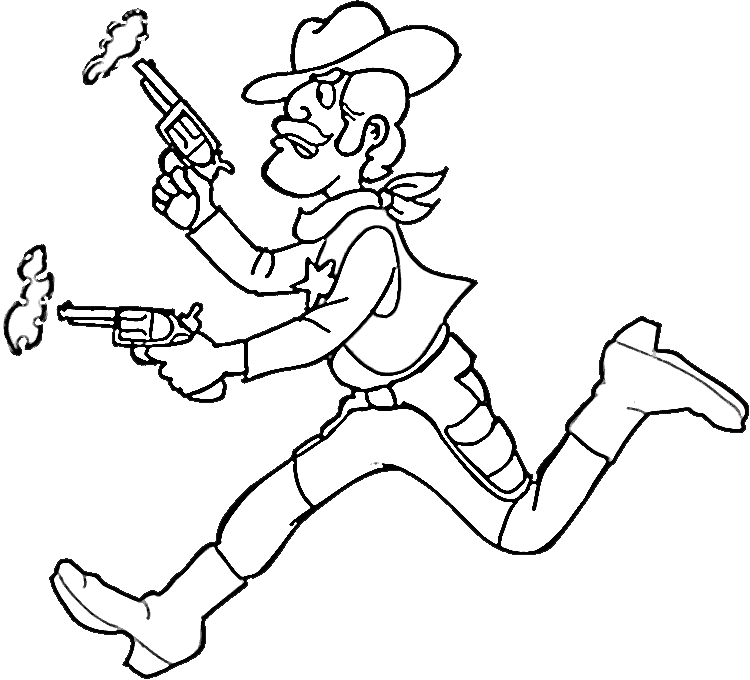 Cowboy Drawing For Kids at GetDrawings.com | Free for personal use ...