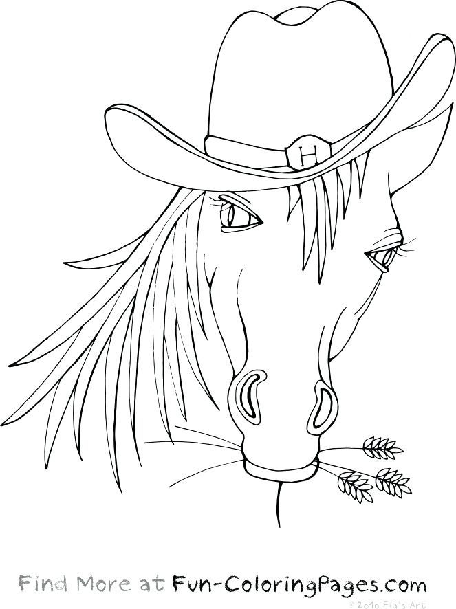 Cowboy Hat Coloring Page - Coloring Home |Small Cowboy Hat Coloring Page