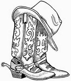 236x267 Image Result For Cowboy Boots Drawing Cards Amp Paper Crafts