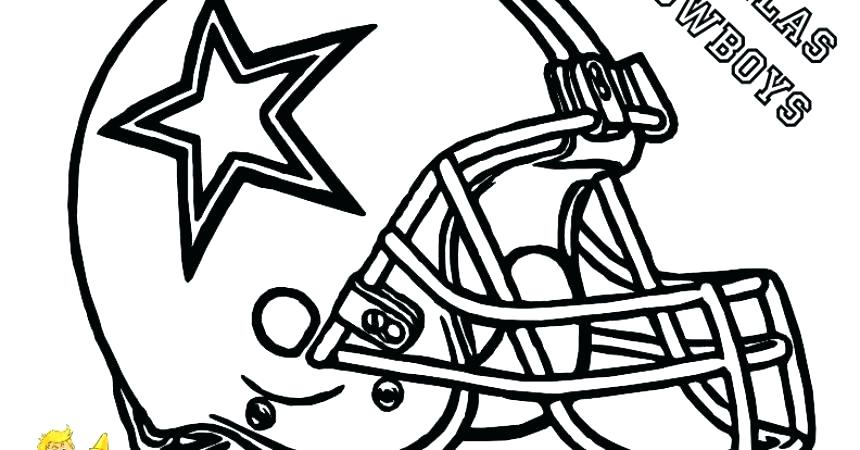 860x450 Dallas Cowboys Coloring Page Cowboy Coloring Football Pages Free