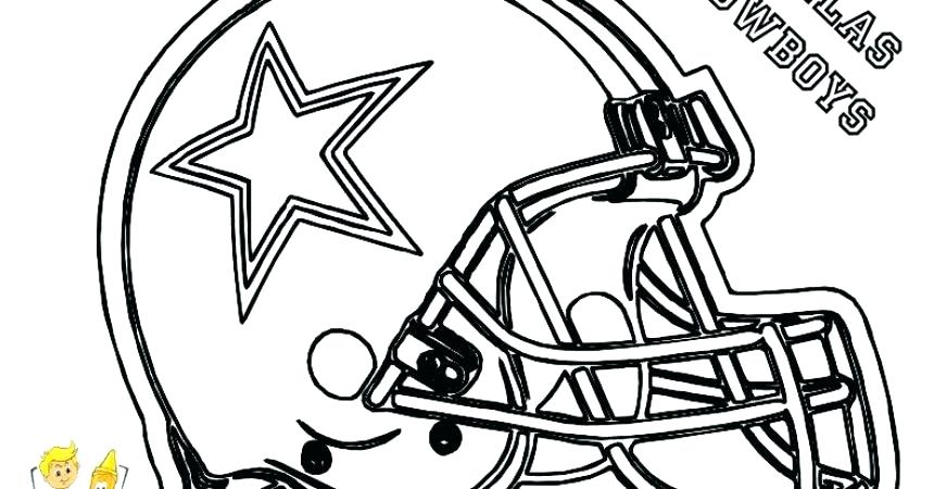 860x450 Minimalist Dallas Cowboys Coloring Pages Free Download