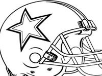 200x150 Dallas Cowboys Coloring Pages New Inspirational Dallas Cowboys