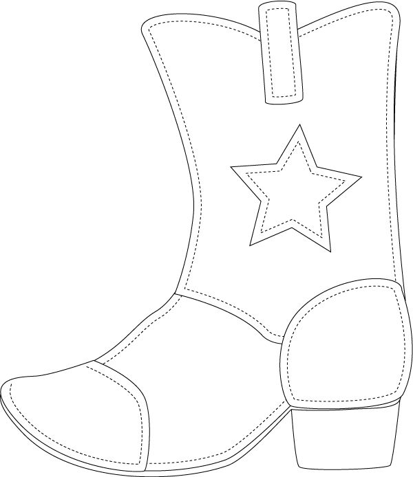 Cowgirl Boots Drawing at GetDrawingscom Free for personal use