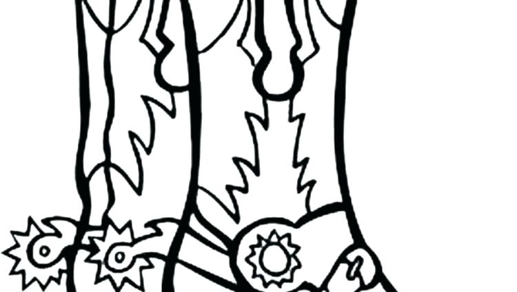 Cowgirl Boots Drawing At Getdrawings Com Free For Personal Use