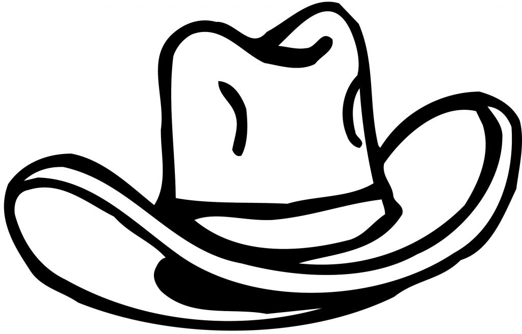 1024x657 Cowboy Hat Drawing