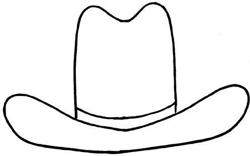 495x309 Wild West Clipart Hat