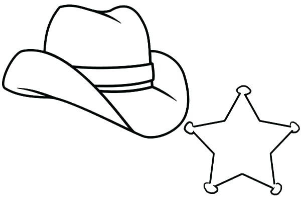 600x400 Cowboy Boots Coloring Page Cowboy Hat Coloring Pages Cowboy Hats