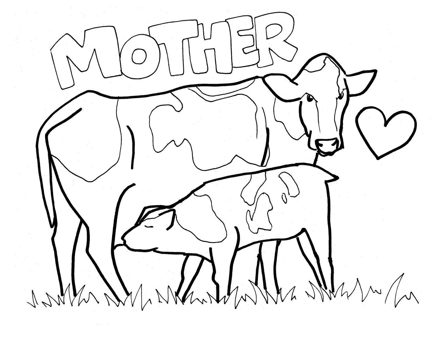 Cows Drawing at GetDrawings.com | Free for personal use Cows Drawing ...