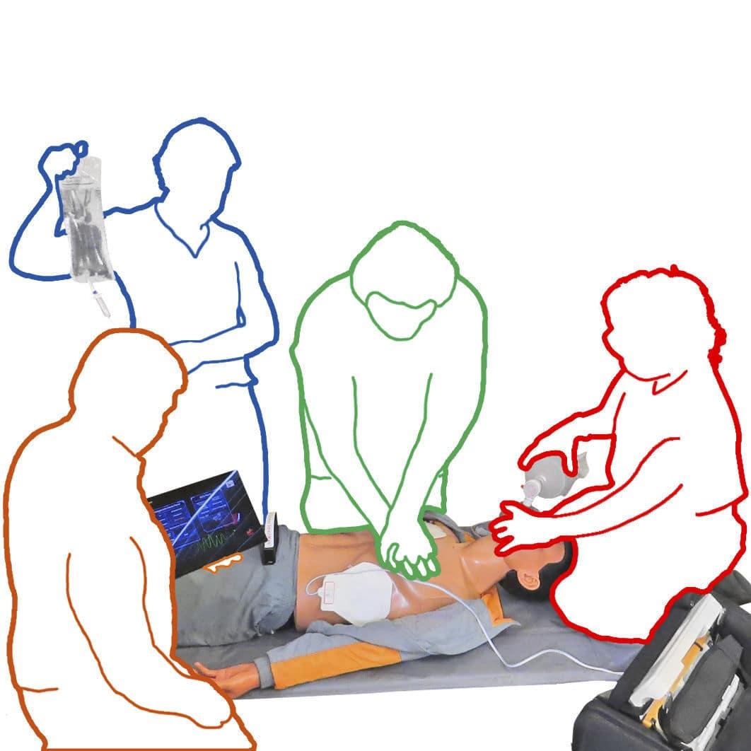 1062x1062 Intubation Training Manikin Manual Resuscitation Cpr