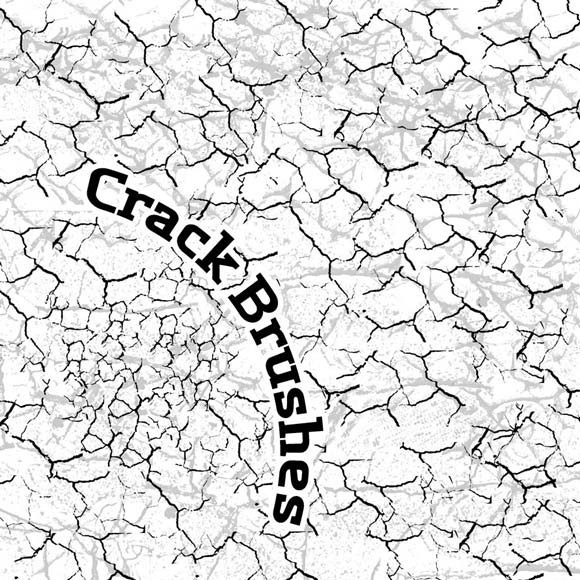 580x580 30 Beautiful Free Photoshop Crack Brushes For Designers