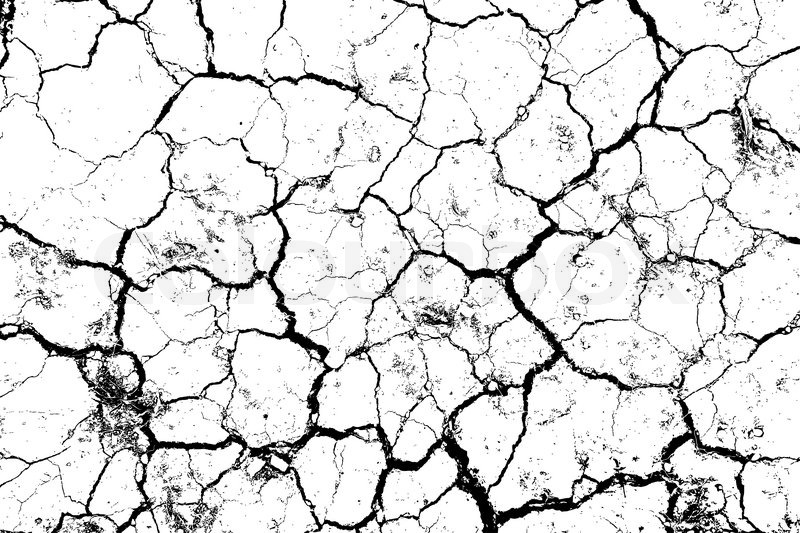 800x533 The Cracks Texture White And Black Stock Vector Colourbox