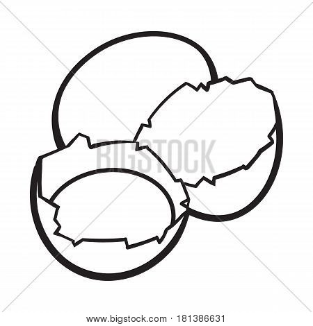 450x470 Whole Cracked, Broken Chicken Egg Vector Amp Photo Bigstock