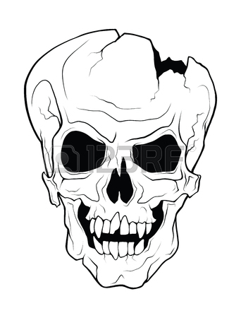 342x450 Broken Skull Stock Photos. Royalty Free Business Images