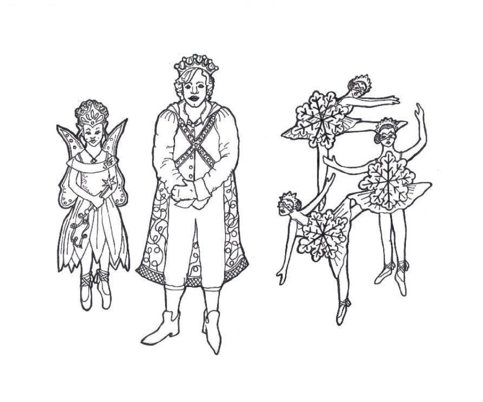 953x793 Nutcracker Ballet Coloring Pages Kid's Crafts Free