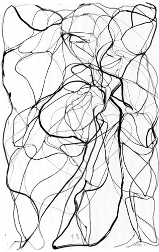 316x500 Brice Marden, Aphrodite, 1992 Aphrodite, Drawings And Mark Making