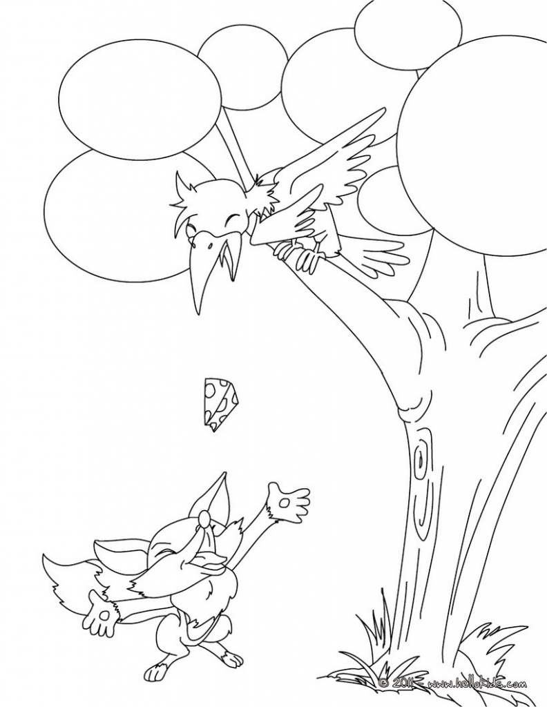 792x1024 Fox Coloring Pages, Drawing For Kids, Kids Crafts And Activities