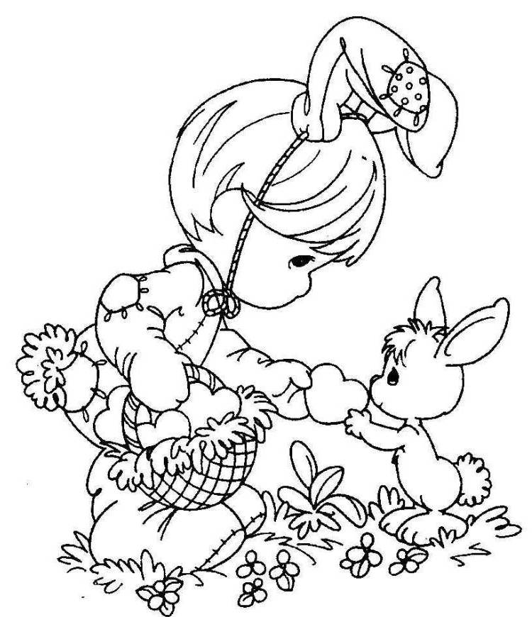 750x870 Sensational Easter Drawing Ideas Bunny Crafts For Kids To Make