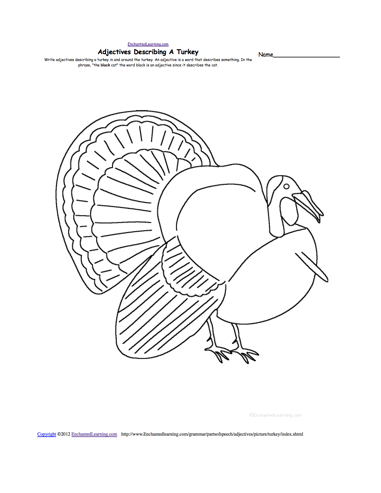 1275x1649 Thanksgiving Crafts, Worksheets, And Activities