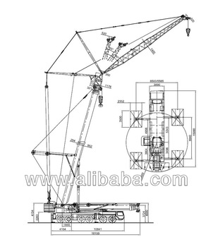 302x350 Liebherr Ltm 1300 1,300 Ton Mobile Crane