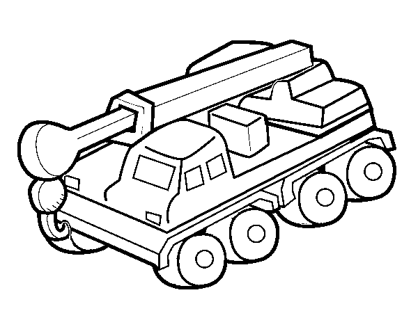 600x470 Truck Cranes For Coloring