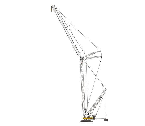 600x521 1000 Ton Crawler Crane Sany India