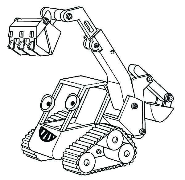 600x586 Elegant Construction Truck Coloring Pages Image Learn Colors