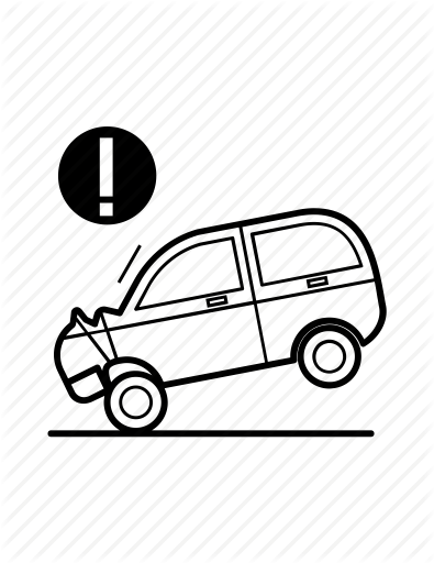 395x512 Accident, Car, Crash, Injure, Insurance, Protection, Vehicle Icon
