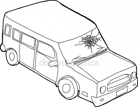 450x348 Broken Car Window Stock Vectors, Royalty Free Broken Car Window