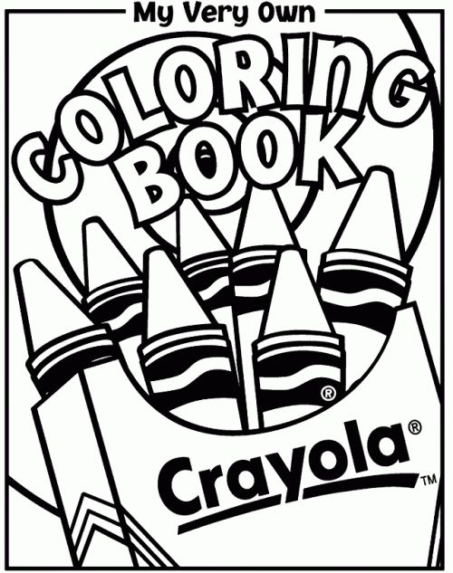 500x633 Epic Crayola Crayon Coloring Pages 43 About Remodel Fee
