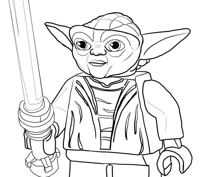 678x600 Awesome Yoda Coloring Pages Crayola Photo Face Star Wars Free