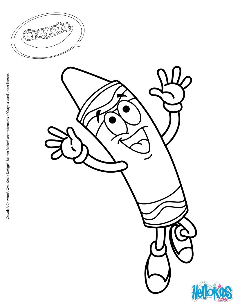 820x1060 Crayola 17 Coloring Pages