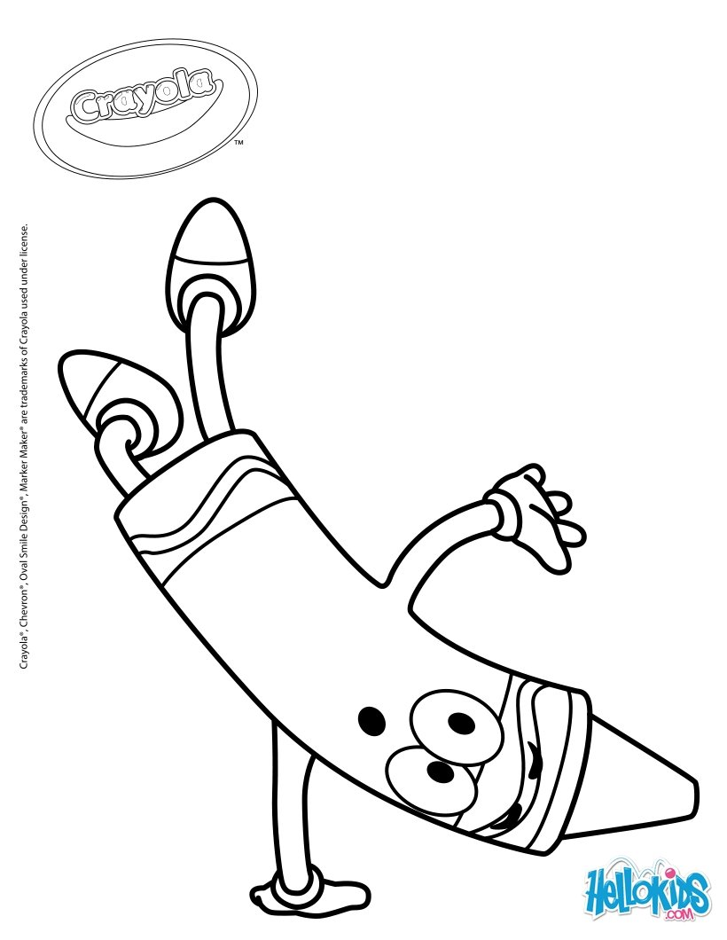 820x1060 Crayola 18 Coloring Pages