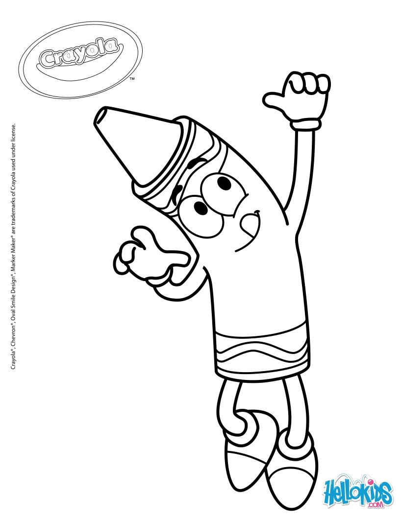 820x1060 Crayola 19 Coloring Pages