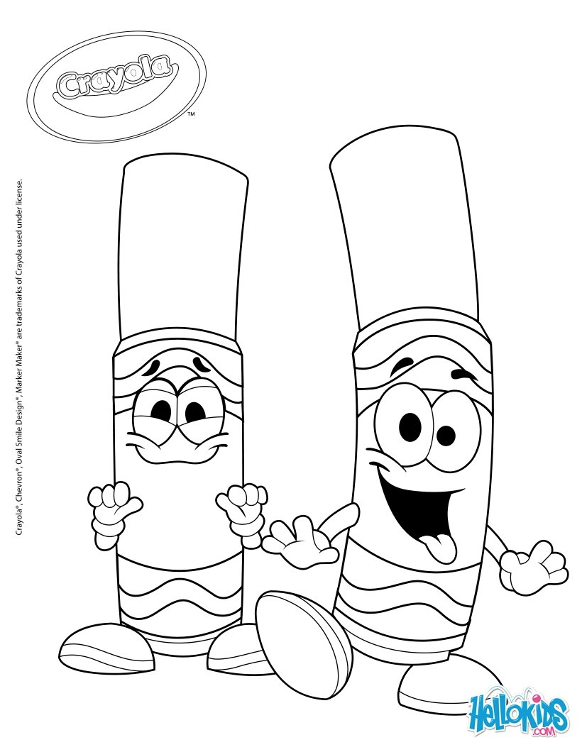 820x1060 Crayola 4 Coloring Pages
