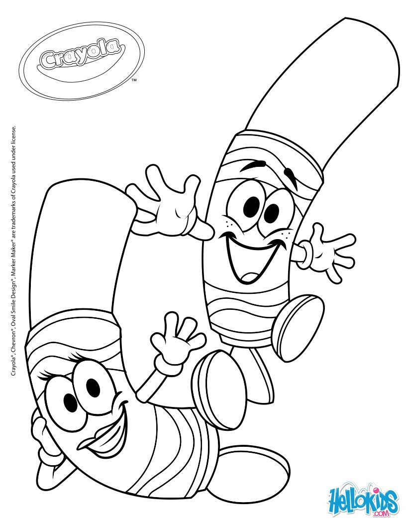 820x1060 Crayola 5 Coloring Pages
