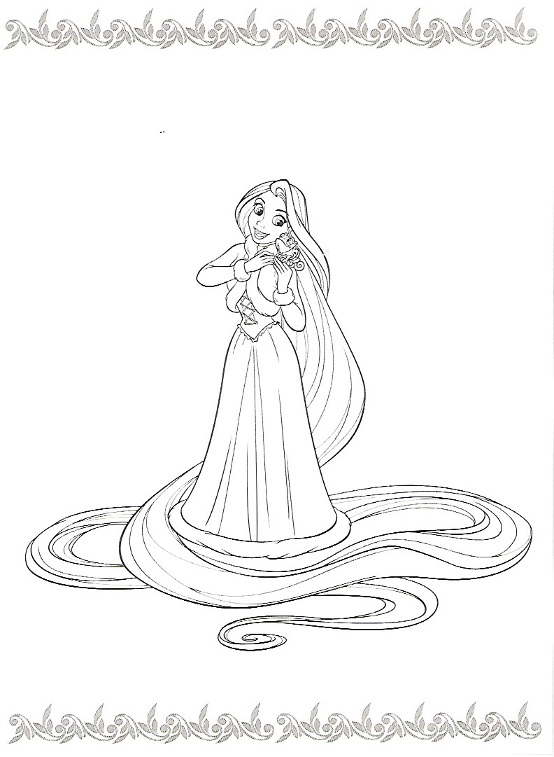 792x1081 Pin By Jody Kyle On Coloring Pages Tangled