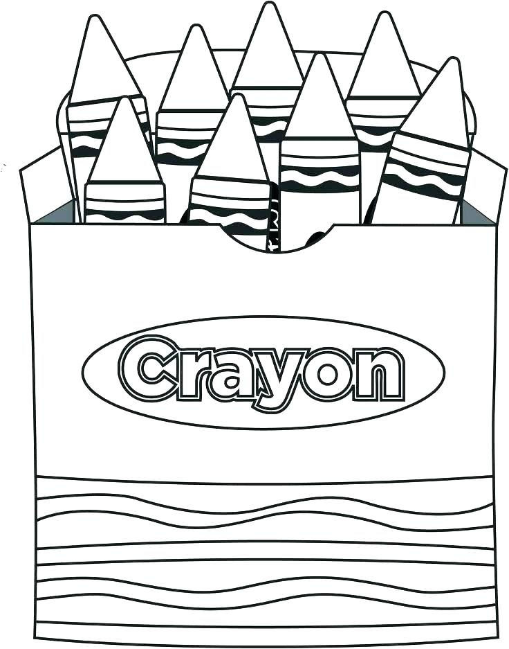 736x937 Crayon Coloring Pages Crayons Colouring Pages Page 2 Crayon Box