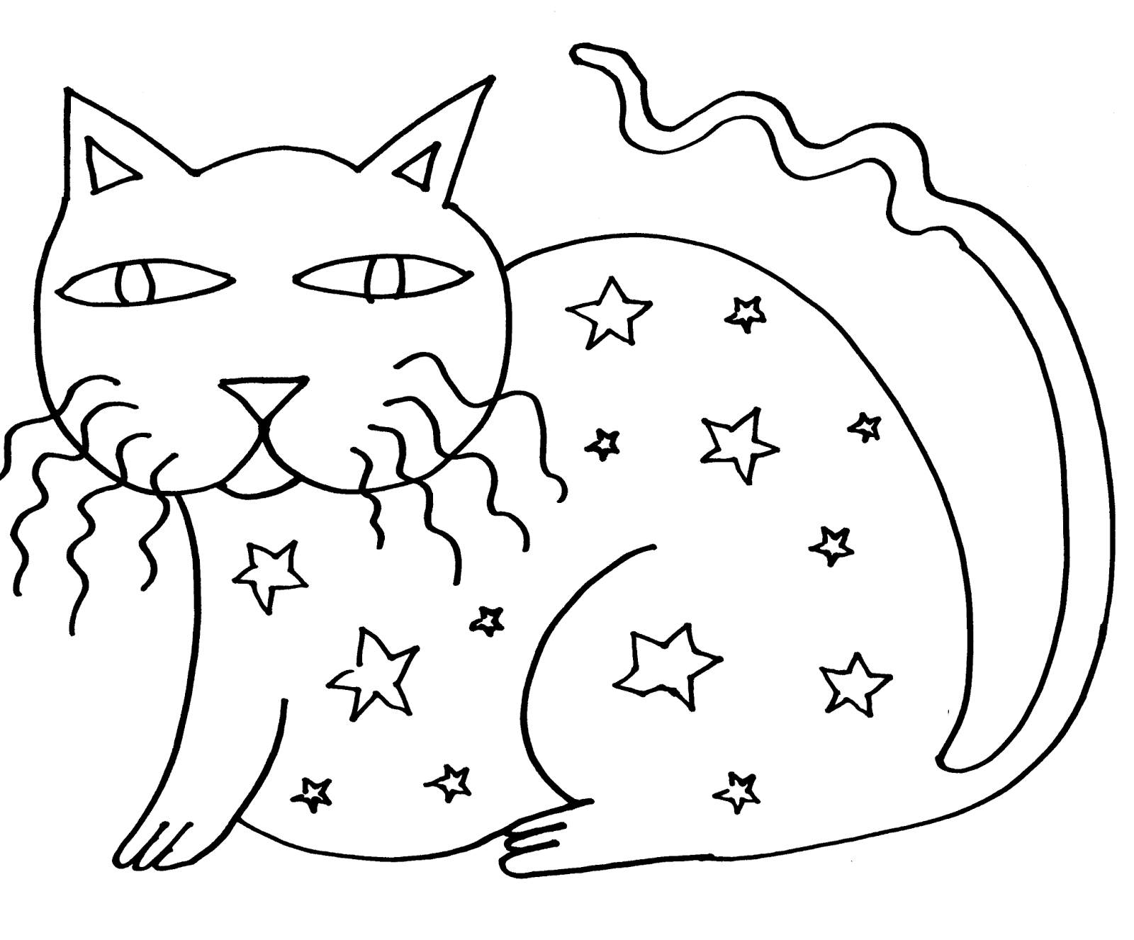 1600x1327 Surprising Crazy Cat Coloring Pages With Crazy Coloring Pages