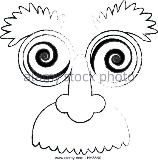 530x540 Crazy Googly Eyes Nose Mustache Stock Photos Amp Crazy Googly Eyes