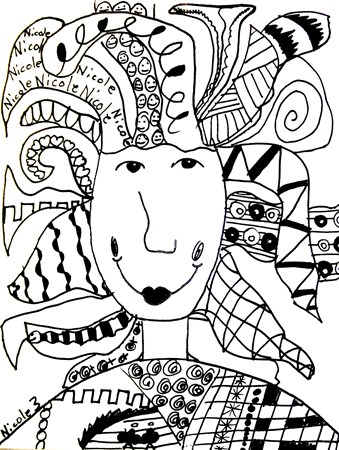339x450 Crazy Hair My Children's Artwork Crazy Hair, Art