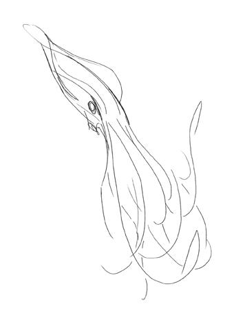 340x454 Free Demo On How To Draw A Kraken, The Monster Of The Sea