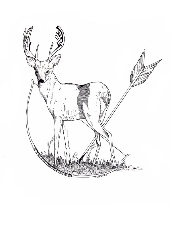 600x786 7 Days Drawing Challenge Day 3 Mythical Creature By Okirokok