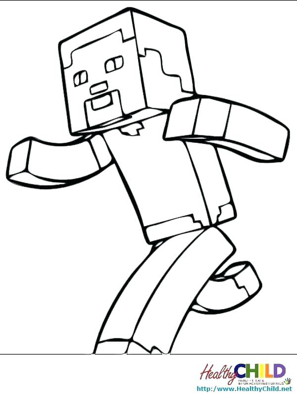 600x795 Coloring Pages For Minecraft Color Pages Kids Minecraft Creeper