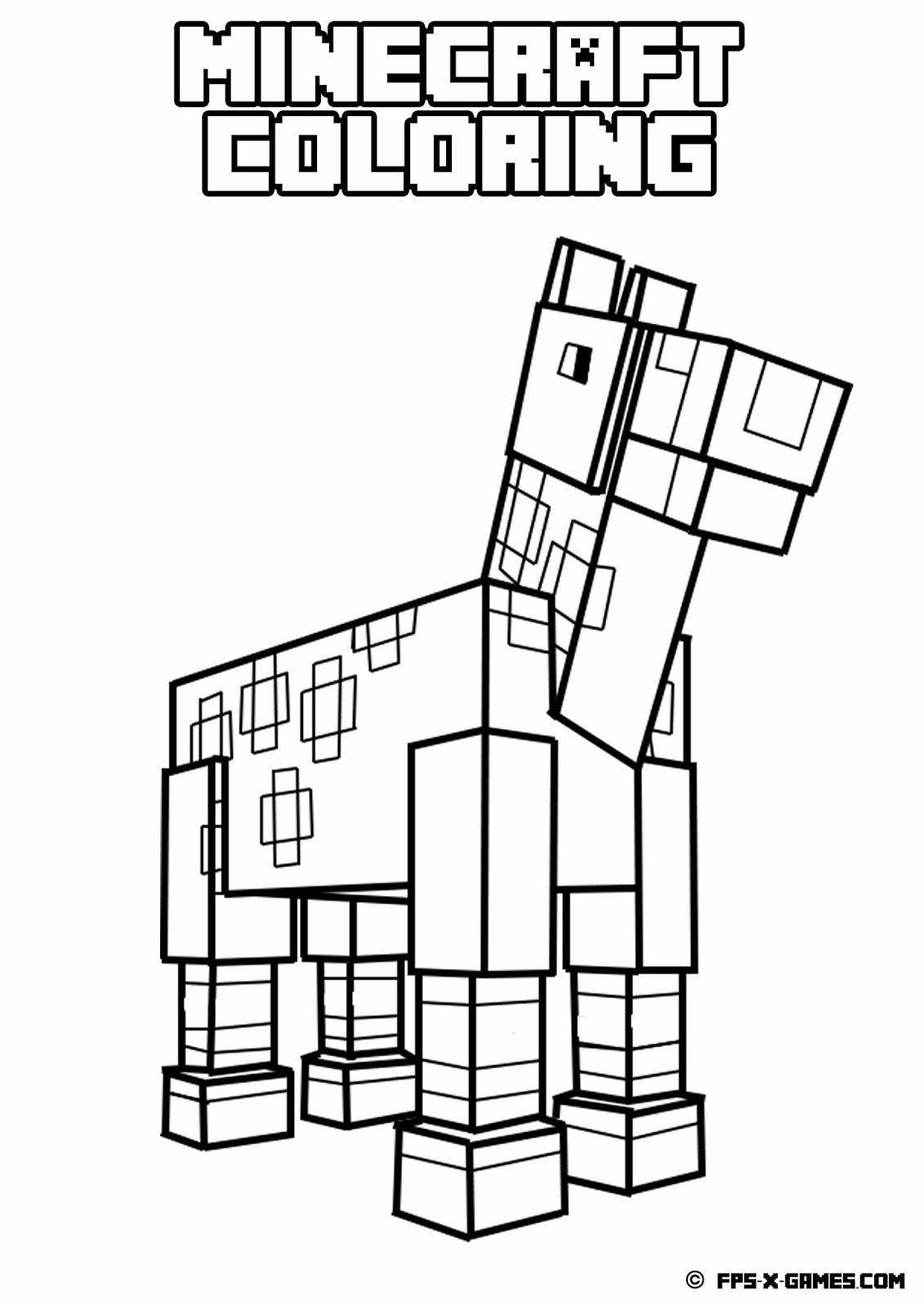 Ausmalbilder Minecraft Dorf : Ausgezeichnet Ausmalbilder Minecraft Zombie Ideen Malvorlagen Von