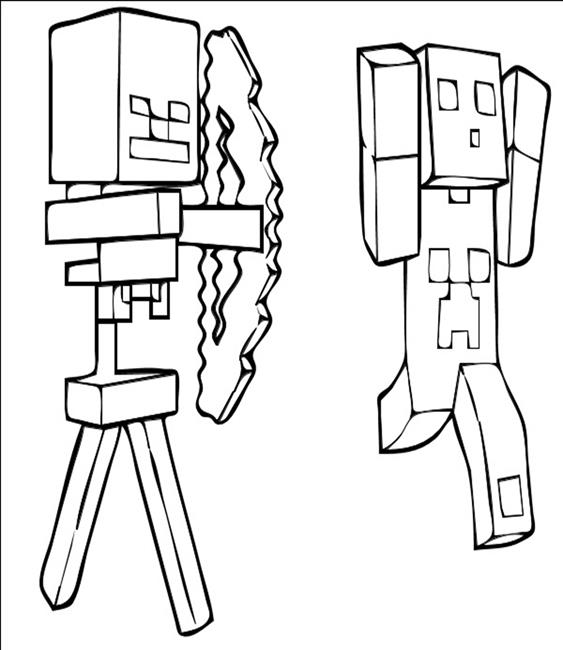 563x650 Creeper Minecraft 3