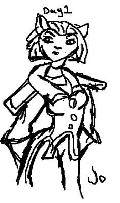 236x400 Amelia By That Darn Creeper Drawing Club!!