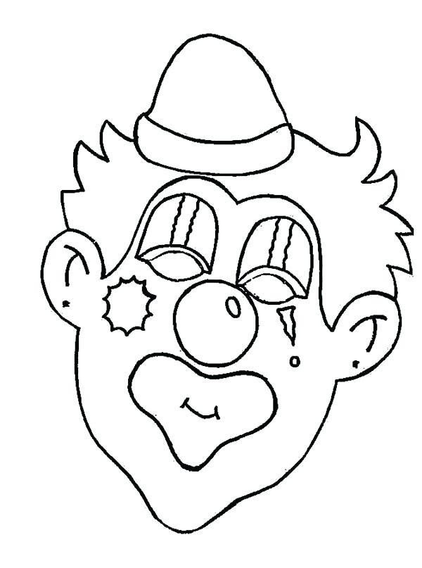 Creepy Clown Drawing at GetDrawings | Free download