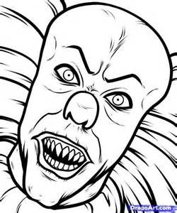 Creepy Clowns Drawing